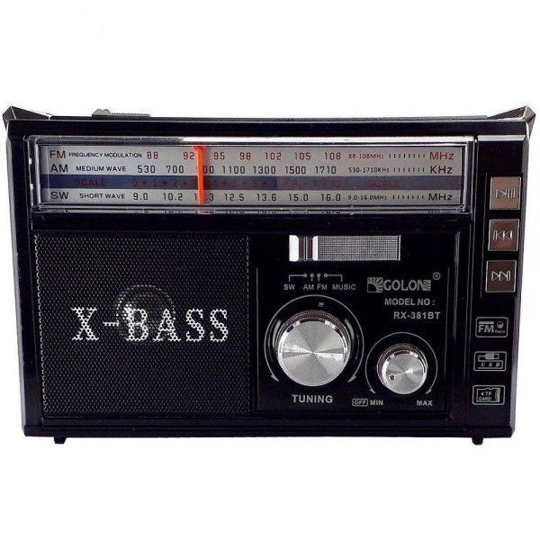 GOLON RX-381BT Portable Radio