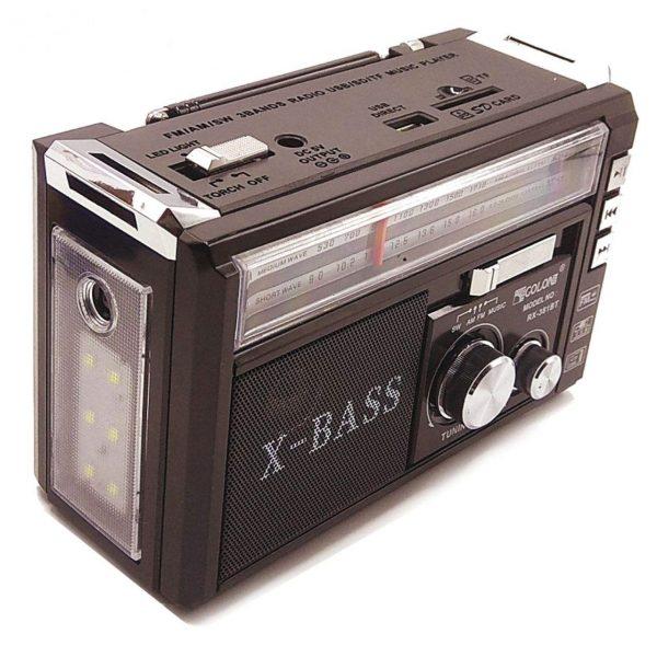 خرید اسپیکر رادیو مدل RX-381BT از قشم