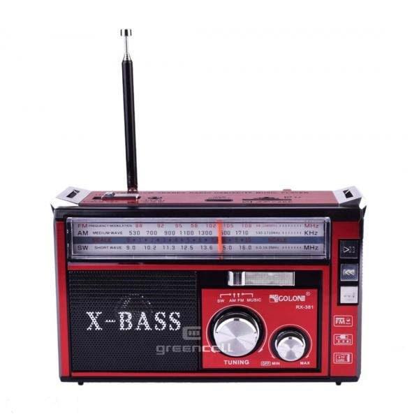رادیو رنگ قرمز