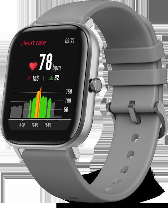 ساعت هوشمند امیزفیت مدل GTS نسخه ی گلوبال